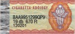 Hungary tax stamp