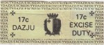Malta tax stamp