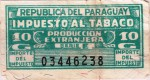 Paraguay tax stamp