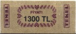 Turkey tax stamp